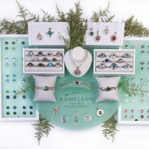 Sterling Kameleon Jewelry Interchangeable JewelPops®